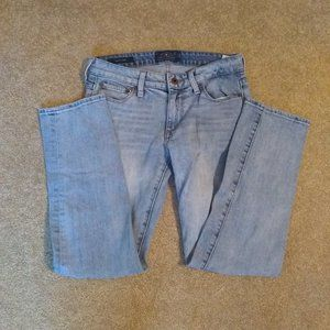Lucky brand jeans 2/26 sweet crop